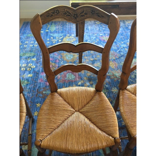 Pierre Deux French Country Dining Chairs - 6 For Sale - Image 9 of 11