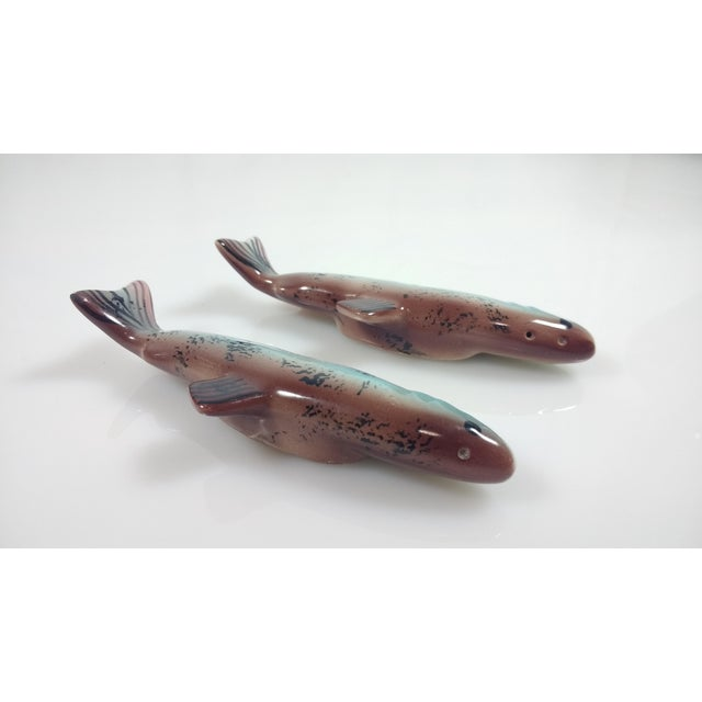 Rainbow Trout Salt & Pepper Shakers - A Pair - Image 5 of 7