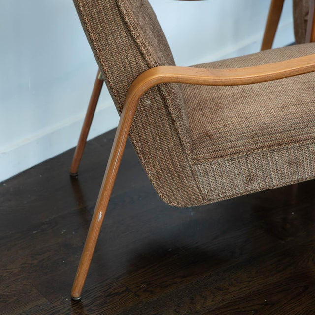 Brown Pair of Thonet Bentwood Armchairs For Sale - Image 8 of 12