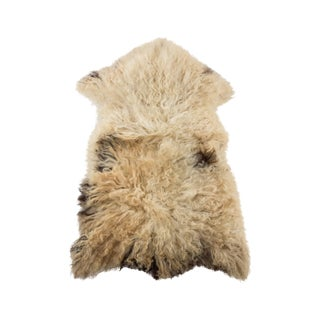 "Hand-Tanned Sheepskin Pelt Rug - 2'0""x3'0"" For Sale"
