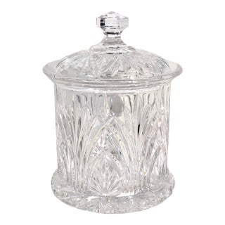 Waterford Marquis Vale Wedge Cut Biscuit Barrel Jar For Sale