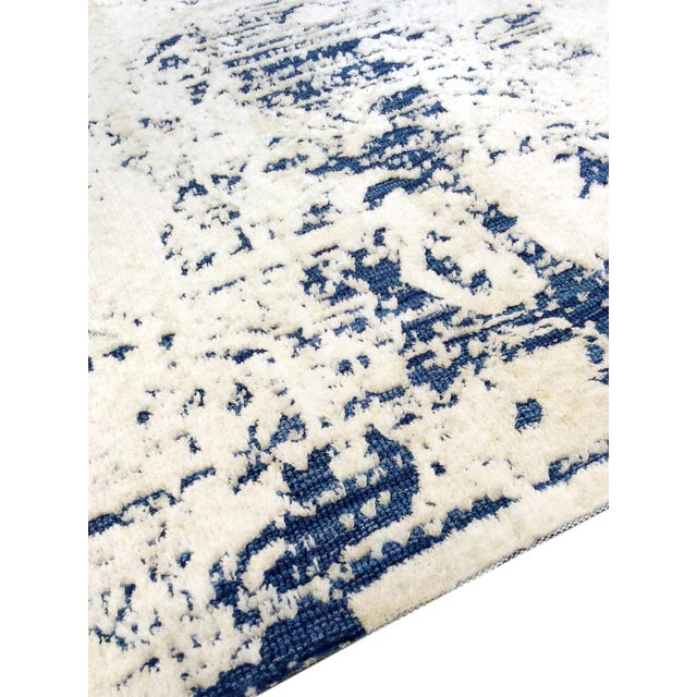 Modern Hand Tufted Microfiber Rug - 4' x 6' - Image 5 of 5