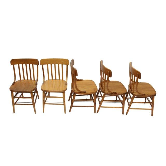 1940 S Marietta Chair Co Chairs Set Of 5 Chairish