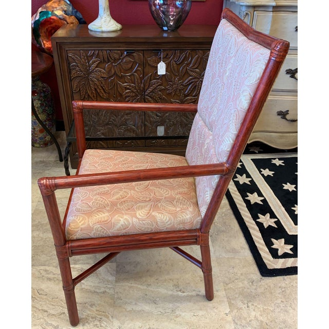 1970s Orlando Diaz-Azcuy McGuire Cambria Chairs - a Pair For Sale - Image 5 of 10