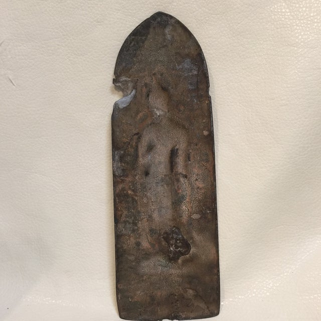 Thai Metal Buddha For Sale - Image 4 of 6