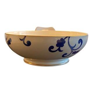 Richard Ginori For Oscar De La Renta Serving Bowl For Sale