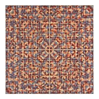 Mid Century Geometric Op Painting No. 2
