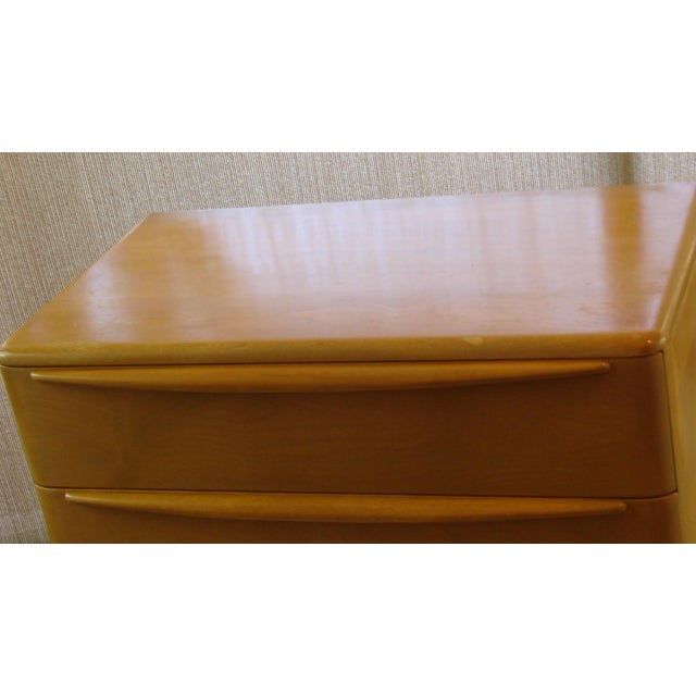 Wood Heywood Wakefield Mid-Century Chest of Drawer For Sale - Image 7 of 11