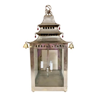 Pagoda Shaped Chandelier For Sale