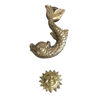 Maltese Dolphin Door Knocker For Sale