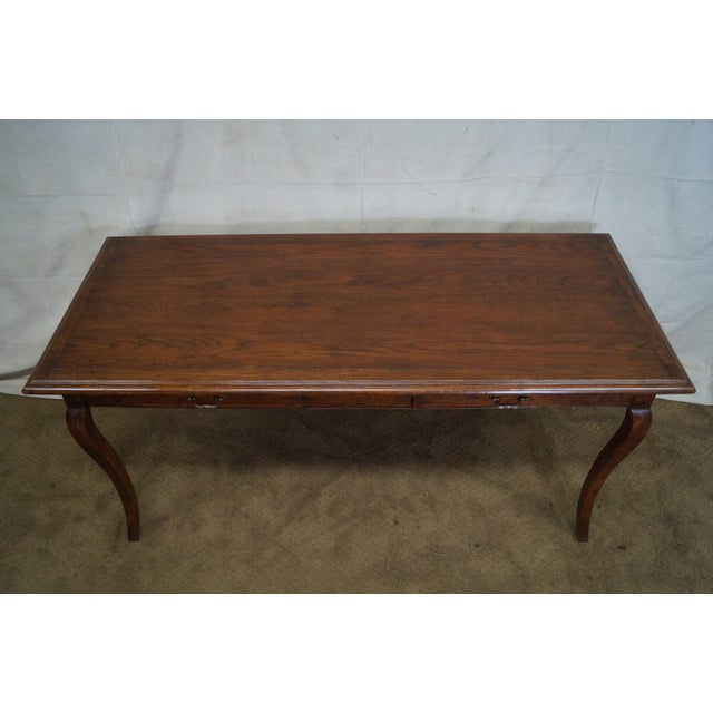 Guy Chaddock French Country Style Writing Desk - Image 4 of 10
