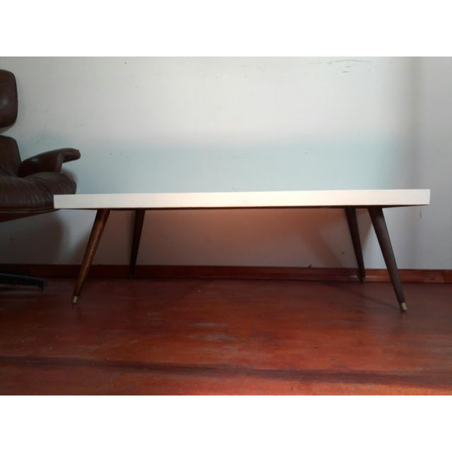 Mid-Century Modern Painted Coffee Table - Image 3 of 6