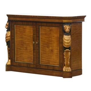 Antique Drexel Heritage Pavilion Empire Style Lion Sideboard For Sale