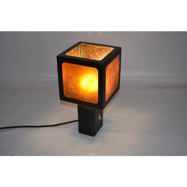 Cube Table Lamp For Sale - Image 4 of 7