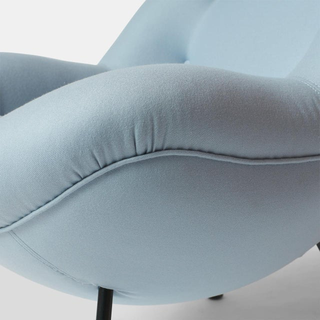 """Metal An """"Egg"""" Chair by Fritz Neth For Sale - Image 7 of 8"""