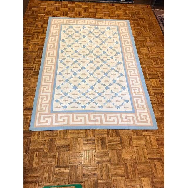 Handmade Flat Woven Kilim Rug - 6' X 9' - Image 2 of 5