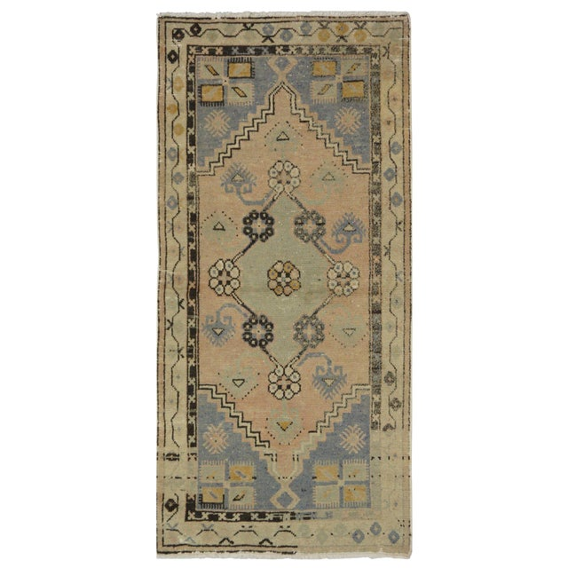 "Vintage Turkish Oushak Rug - 2'5"" x 4'11"" - Image 1 of 4"