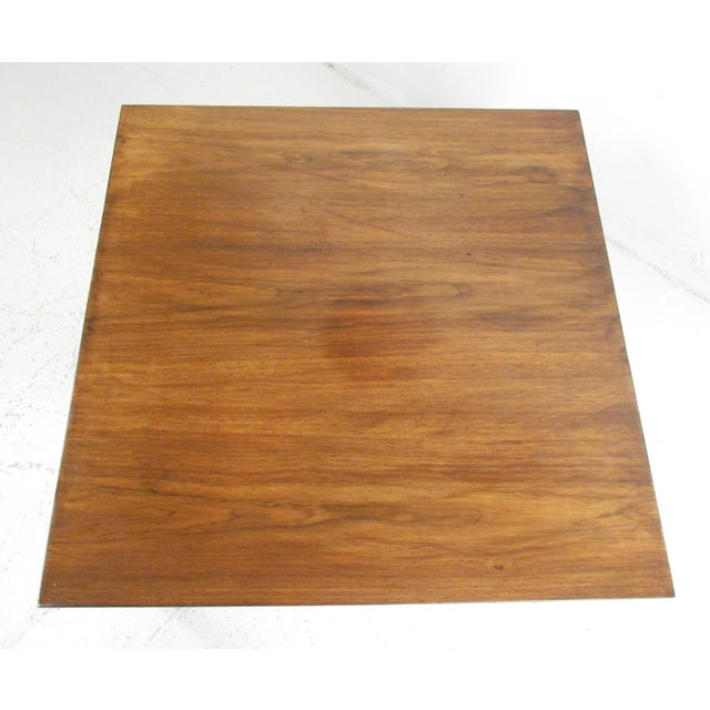 Modern Milo Baughman Style Coffee Table For Sale - Image 3 of 12