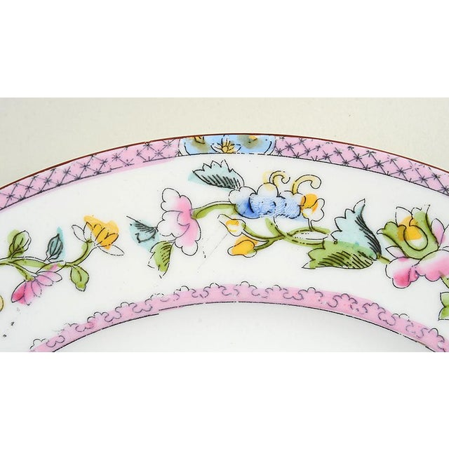 Noritake Noritake Pink with Bird of Paradise Dinner Plates - Set of 10 For Sale - Image 4 of 9