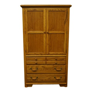 """Thomasville Furniture American Country Collection 40"""" Armoire/Door Chest For Sale"""