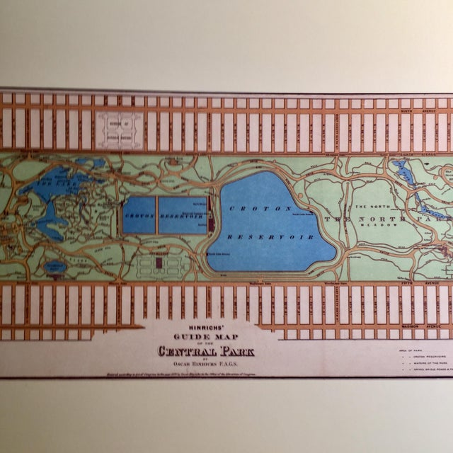 Historic Maps Views of New York Coffee Table Book For Sale In New York - Image 6 of 8