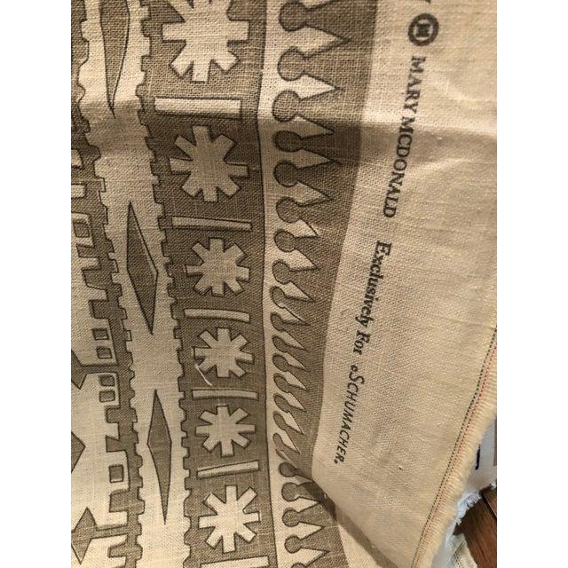 Mary McDonald's Bora Bora Fabric - 1.5 Yards Schumacher Fabric For Sale - Image 4 of 8