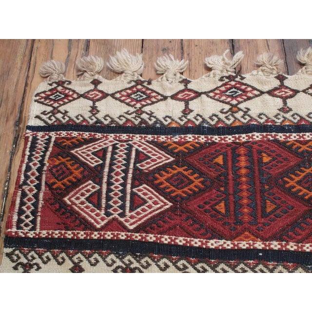 Small Kurdish Kilim For Sale - Image 4 of 6