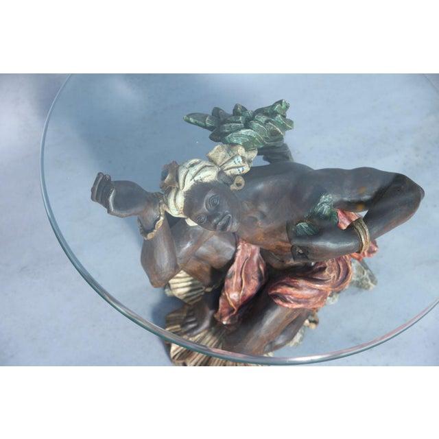 Ithophallic Blackamoor Table For Sale - Image 4 of 10