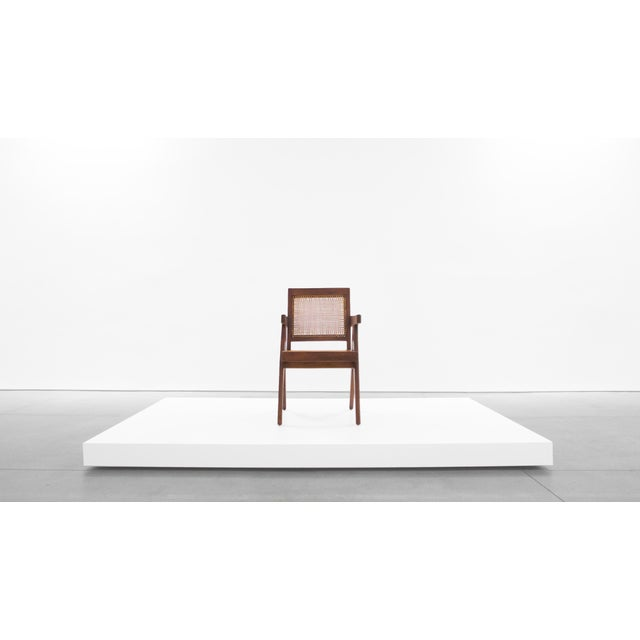 Pierre Jeanneret Pierre Jeanneret Teak Conference Chair From Chandigarh, India, C. 1952 - 1956 For Sale - Image 4 of 10