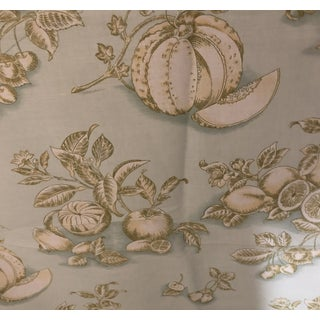 Tyler Hall French Market Linen Fabric For Sale