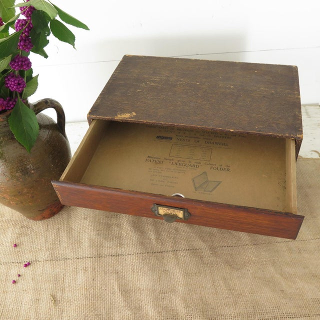 Vintage File Box - Image 4 of 10