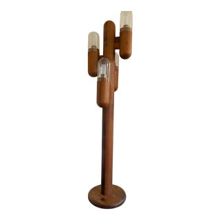 Lou Hodges Style Cactus Floor Lamp For Sale