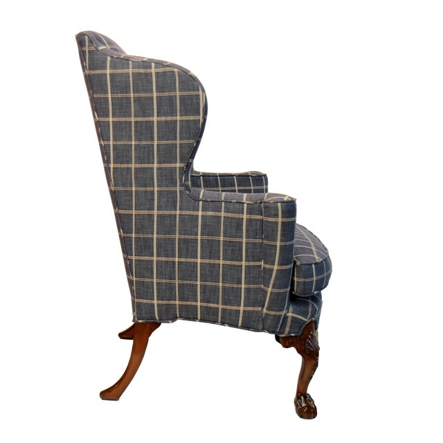 Thomas Chippendale Wing Chair - Image 2 of 2