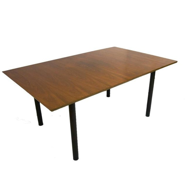 1950s Edward Wormley for Dunbar Extension Dining Table For Sale - Image 5 of 9