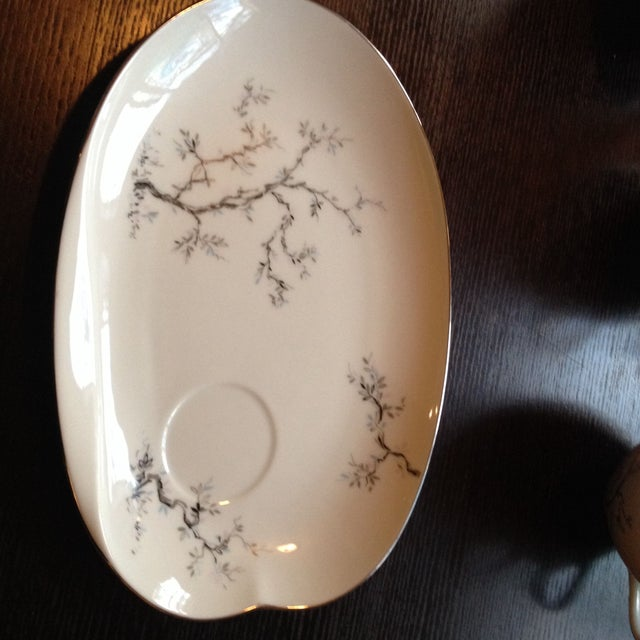 Tea Cups & Luncheon Plates - Set of 6 For Sale In Atlanta - Image 6 of 8