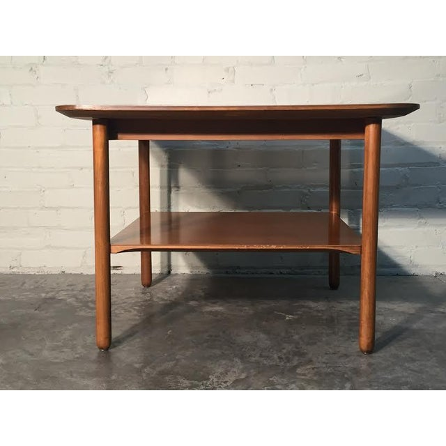Mid-Century Modern Corner End Table - Image 8 of 10