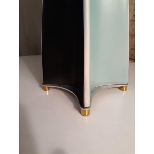 Mid-Century Modern Vintage Parabolic Fin Lamp by Gerald Thurston for Lightolier For Sale - Image 3 of 7