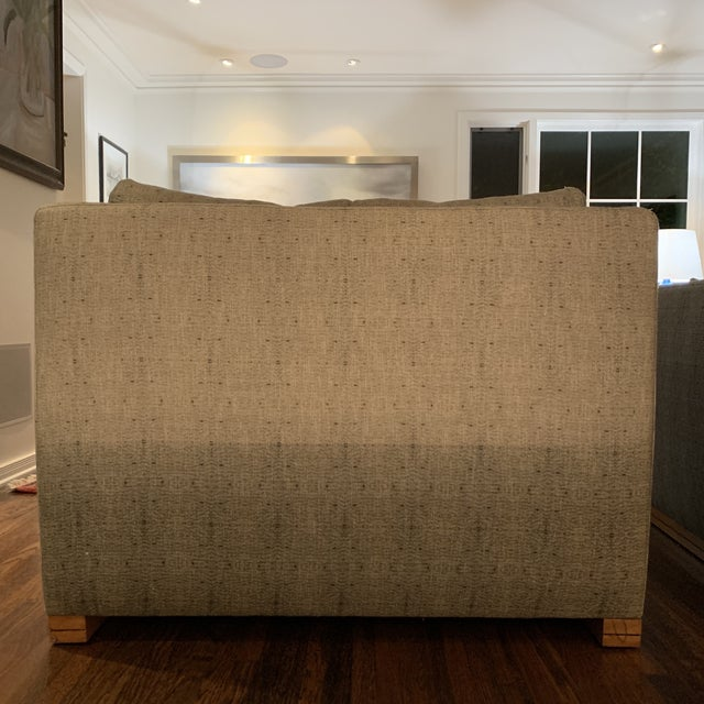 Textile Cisco Home Chairs- a Pair For Sale - Image 7 of 12