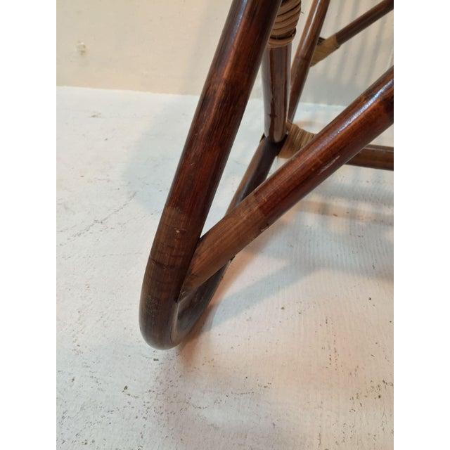 Franco Albini Style Rattan Chair - Image 4 of 7
