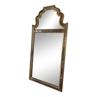 Vintage Labarge French Country Mirror With Mirror Overlay For Sale