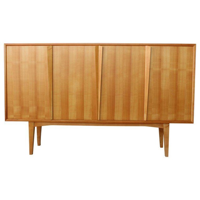 Maple Highboard Credenza, Germany, 1960s For Sale - Image 13 of 13