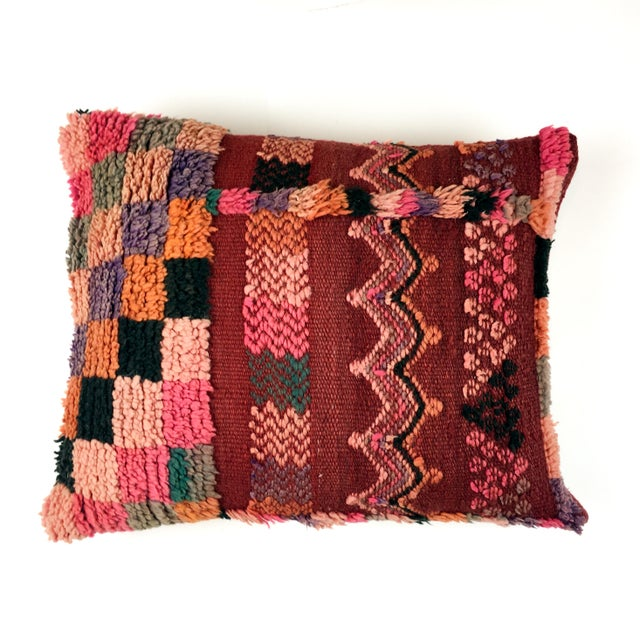 Vintage Moroccan Berber Pillow - Image 2 of 4