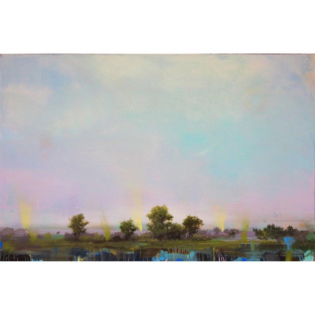 "Impressionism Peter Hoffer ""Printemps"" For Sale - Image 3 of 3"