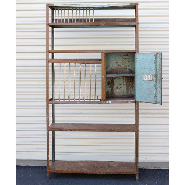 Vintage Brown Iron Rack - Image 4 of 5