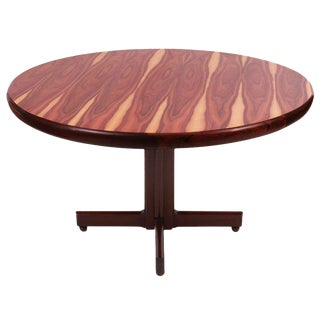 Sergio Rodrigues Brazilian Rosewood Dining Table For Sale