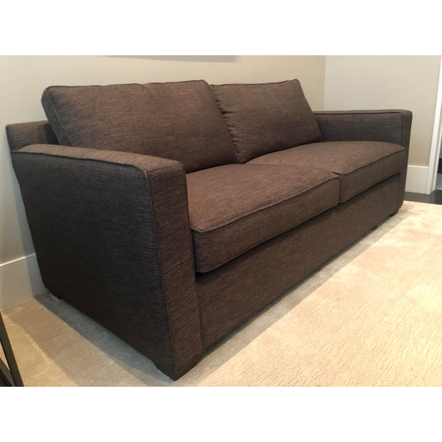 Crate and Barrel Davis Queen Sleeper Sofa in excellent condition. Perfect for a modern home.