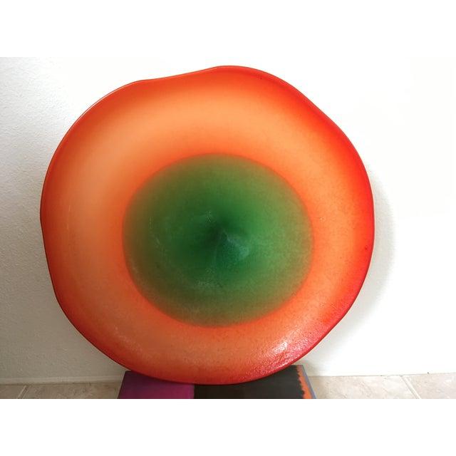 1950s Murano Art Glass Centerpiece Bowl - Image 6 of 6