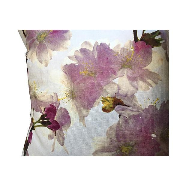 Floral Pillows - Pair For Sale - Image 5 of 5
