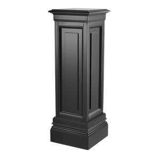 Black Wooden Column - M | Eichholtz Salvatore For Sale