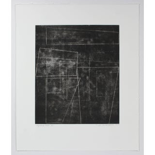 """Rob Delamater """"The Machine Age Ii"""" Black and White Monotype Print, 2014 2014 Preview"""